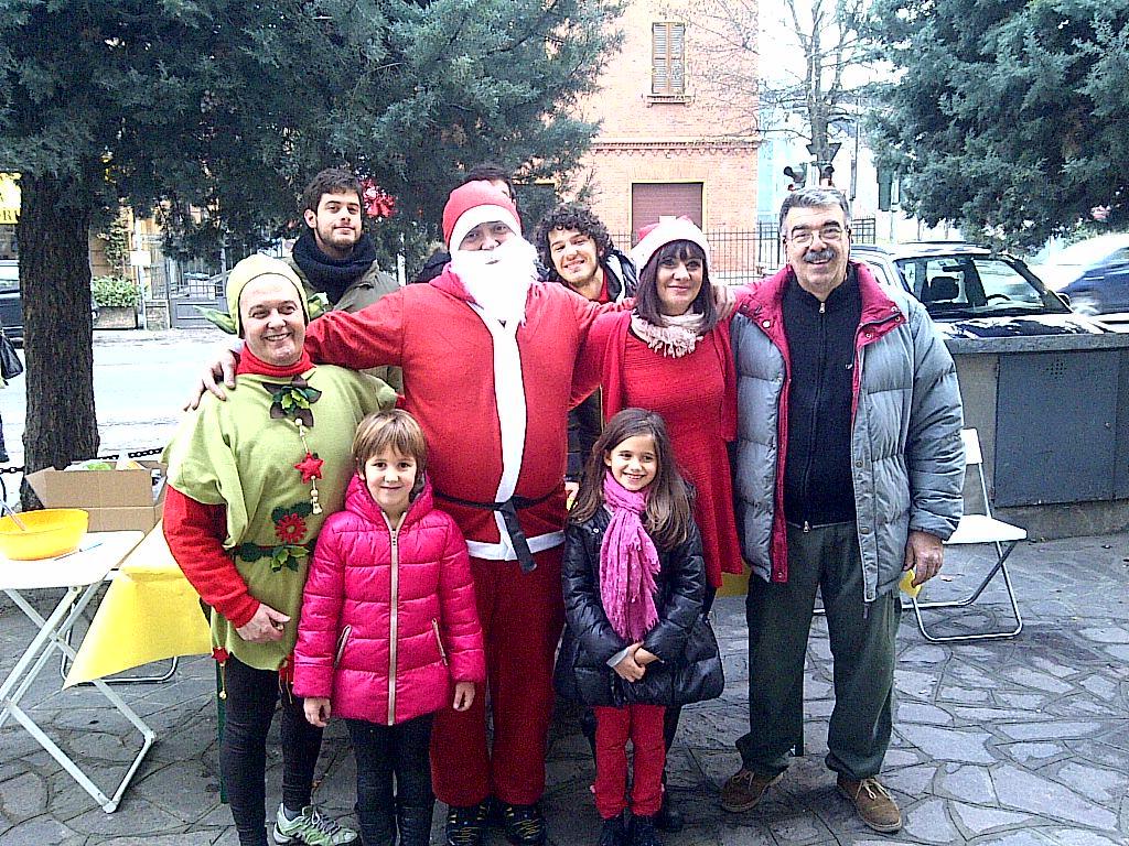 amici e Atletico festa Rastignano 21 dicembre 2013